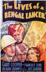 The Lives of a Bengal Lancer 1935 DVD - Gary Cooper / Franchot Tone